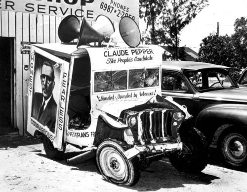 Claude pepper jeep