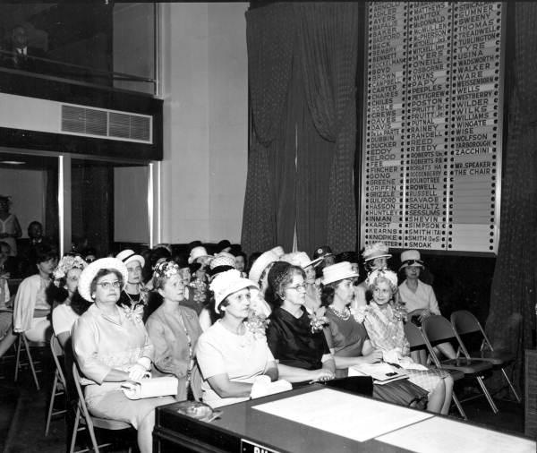 Legislative wives 1960s