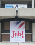 Jeb Miami Dade sign 2