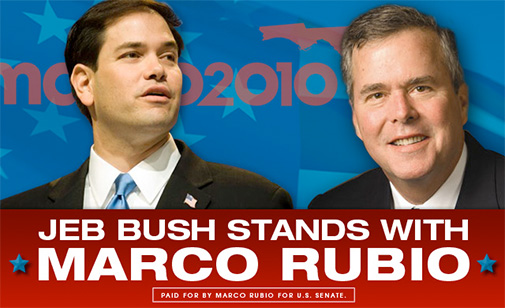 Jeb and marco